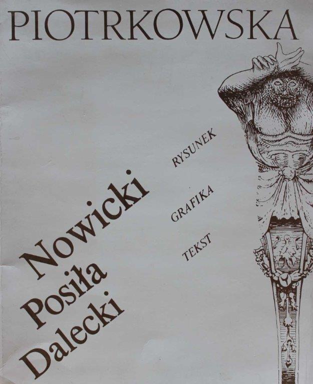 Nowicki RYSUNEK Posiła GRAFIKA Dalecki TEKST