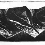 Nuda - 4 drzeworyty 1986r. (c) Andrzej Nowicki
