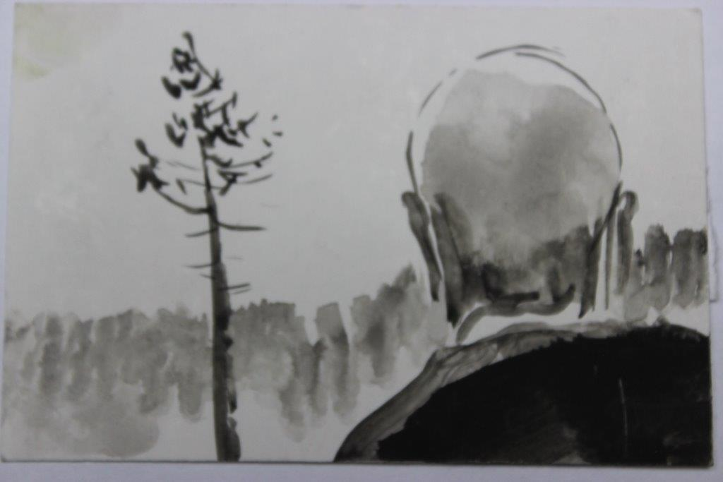 Szkic do etiudy 062 - Andrzej Nowicki.